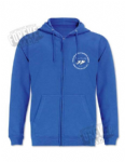 Single colour hoody - zippered